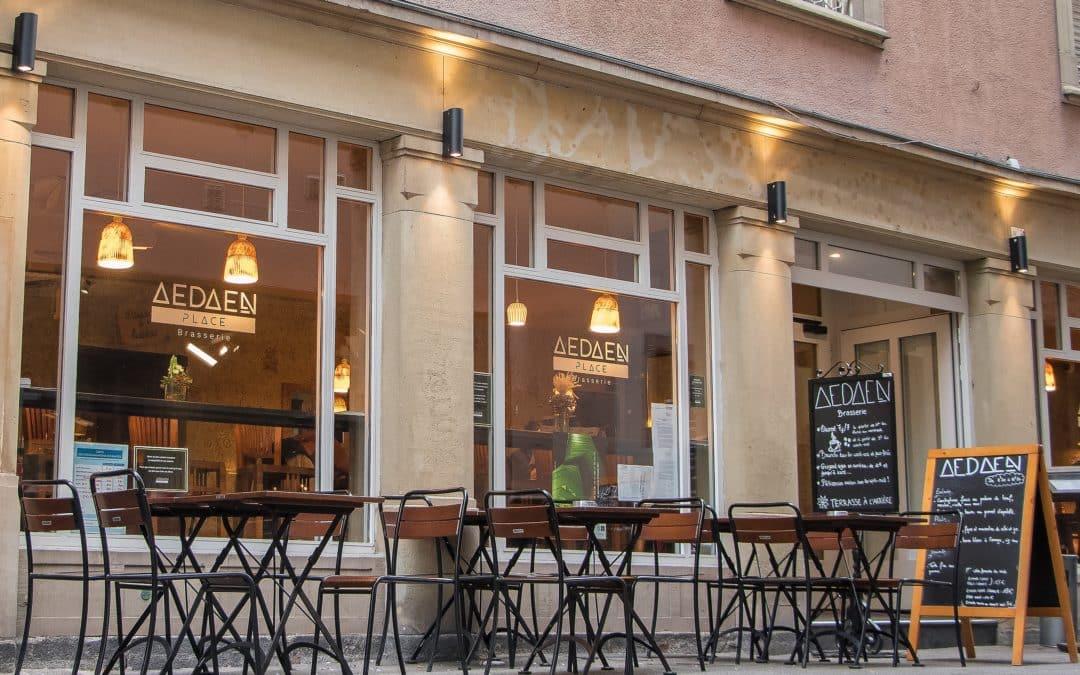 AEDAEN Place – Brasserie – Pizzeria – Bar caché
