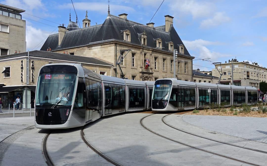 Nouveau tramway de Caen : moins bruyant que le précédent ?